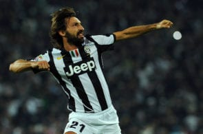 Andrea Pirlo, Juventus, Serie A