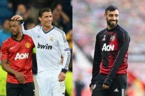 Patrice Evra, Cristiano Ronaldo, Bruno Fernandes