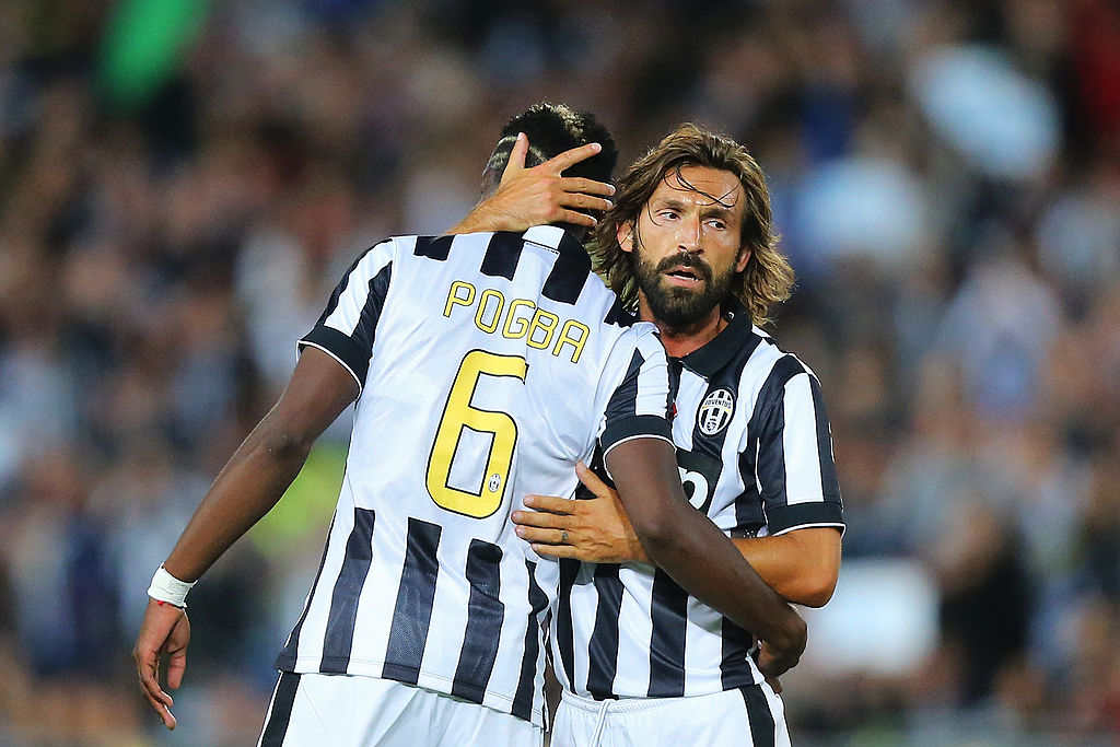 Paul Pogba, Andrea Pirlo, Juventus