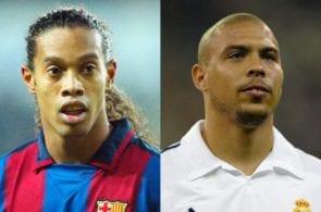 Ronaldinho, Ronaldo Nazario