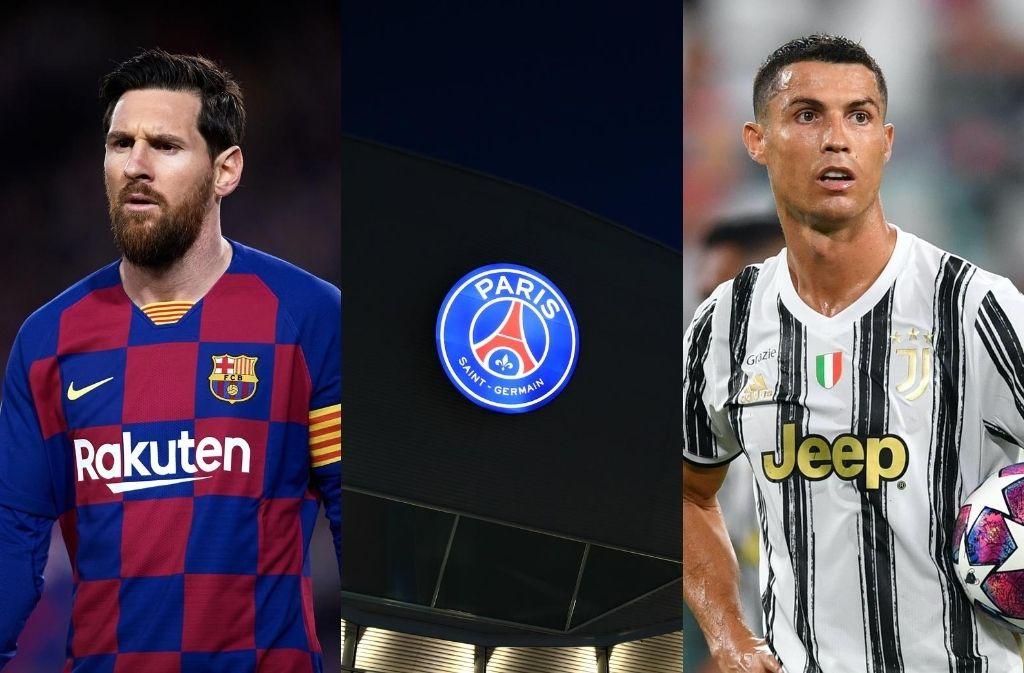 Lionel Messi, Cristiano Ronaldo, PSG