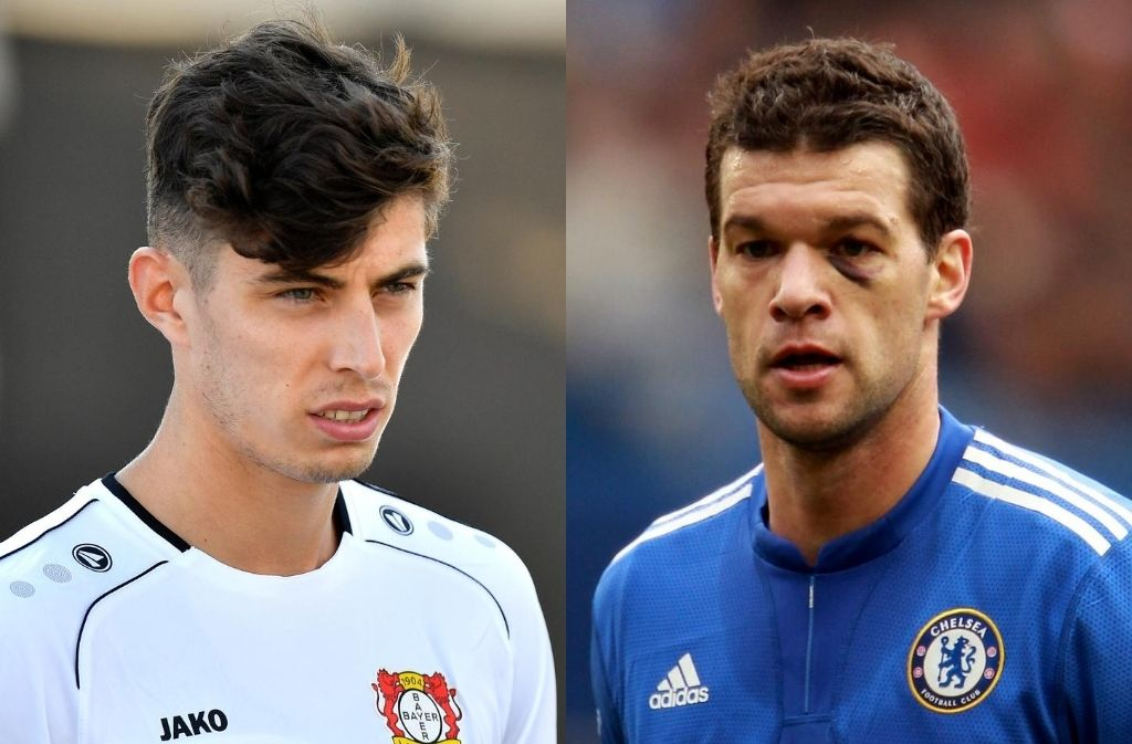 Kai Havertz, Michael Ballack, Chelsea