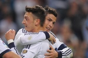 Mesut Ozil & Cristiano Ronaldo - Real Madrid