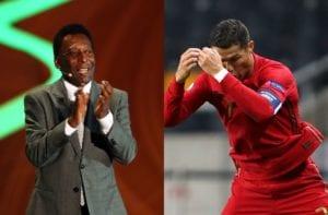 Pele, Cristiano Ronaldo of Portugal