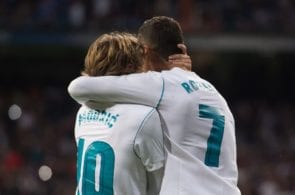 Luka Modric & Cristiano Ronaldo - Real Madrid