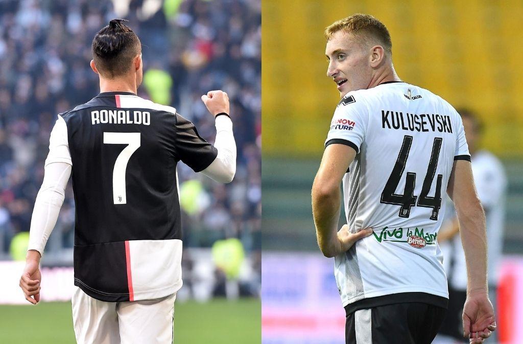 Dejan Kulusevski, Cristiano Ronaldo