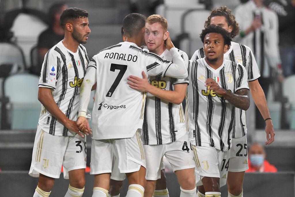 Dejan Kulusevski, Cristiano Ronaldo, Juventus
