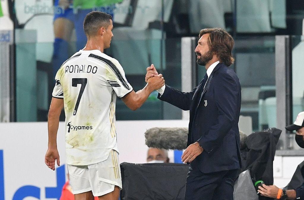Cristiano Ronaldo, Andrea Pirlo