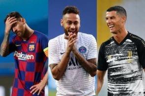 Lionel Messi, Neymar, Cristiano Ronaldo