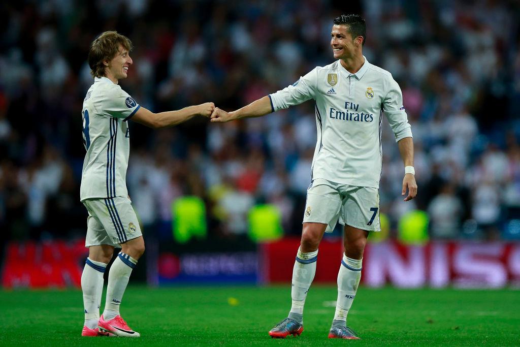Luka Modric, Cristiano Ronaldo