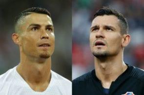 Cristiano Ronaldo, Dejan Lovren