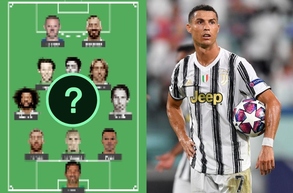Ronaldo, lineup