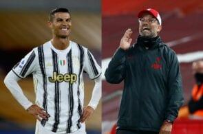 Cristiano Ronaldo of Juventus, Jurgen Klopp of Liverpool