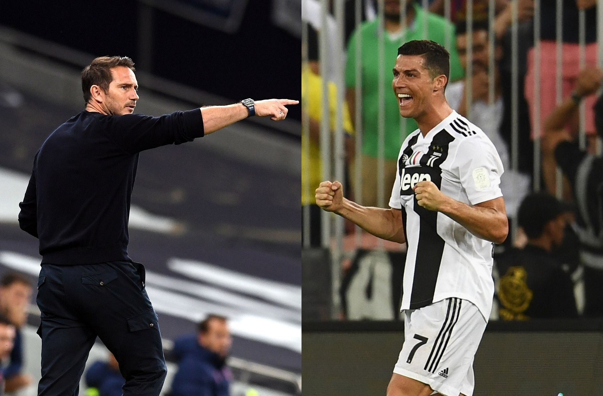 Frank Lampard of Chelsea, Cristiano Ronaldo of Juventus