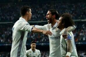 Cristiano Ronaldo, Sergio Ramos, Marcelo - Real Madrid