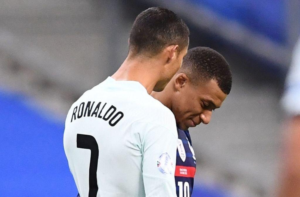 Cristiano Ronaldo & Kylian Mbappe - France vs Portugal