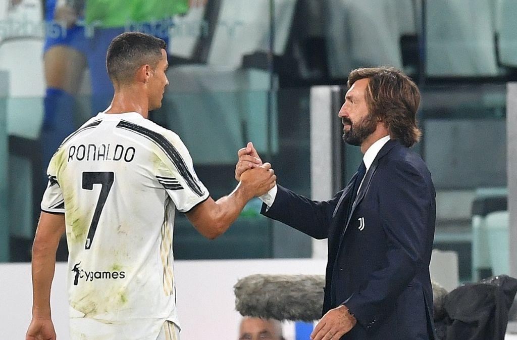 Cristiano Ronaldo, Andrea Pirlo, Juventus