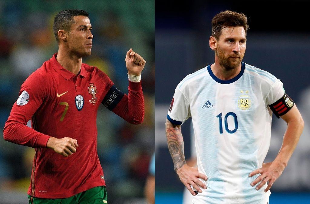 Cristiano Ronaldo, Lionel Messi