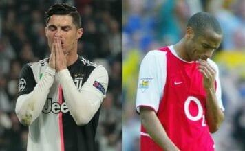 Cristiano Ronaldo, Thierry Henry