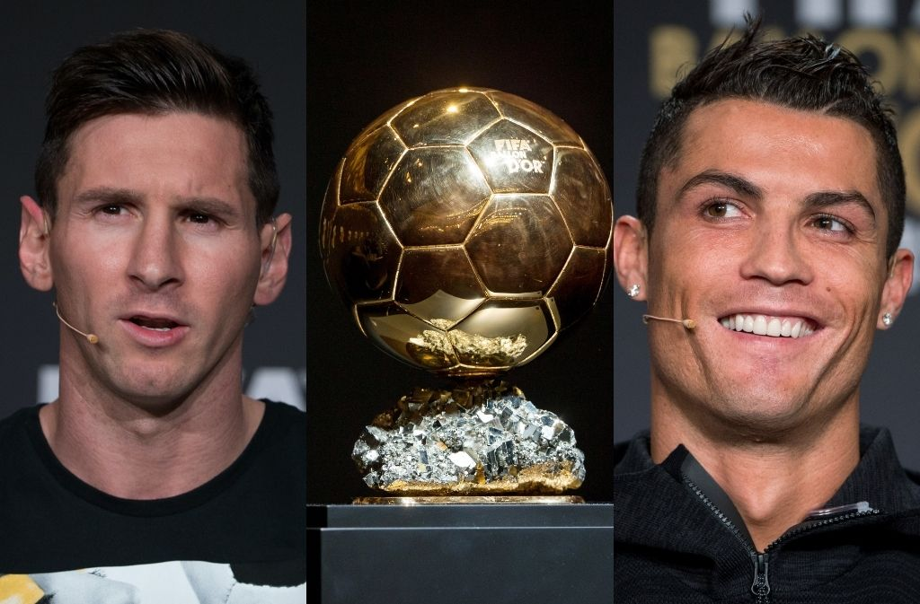 Cristiano Ronaldo beats Lionel Messi for the most Ballon d'Or points in history