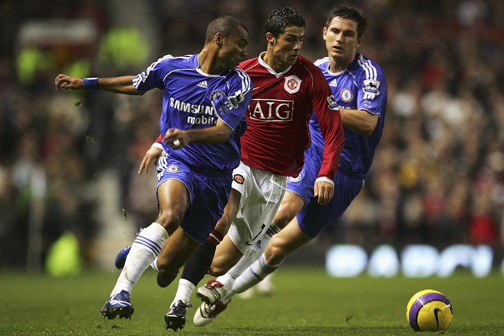 Ashley Cole, Cristiano Ronaldo