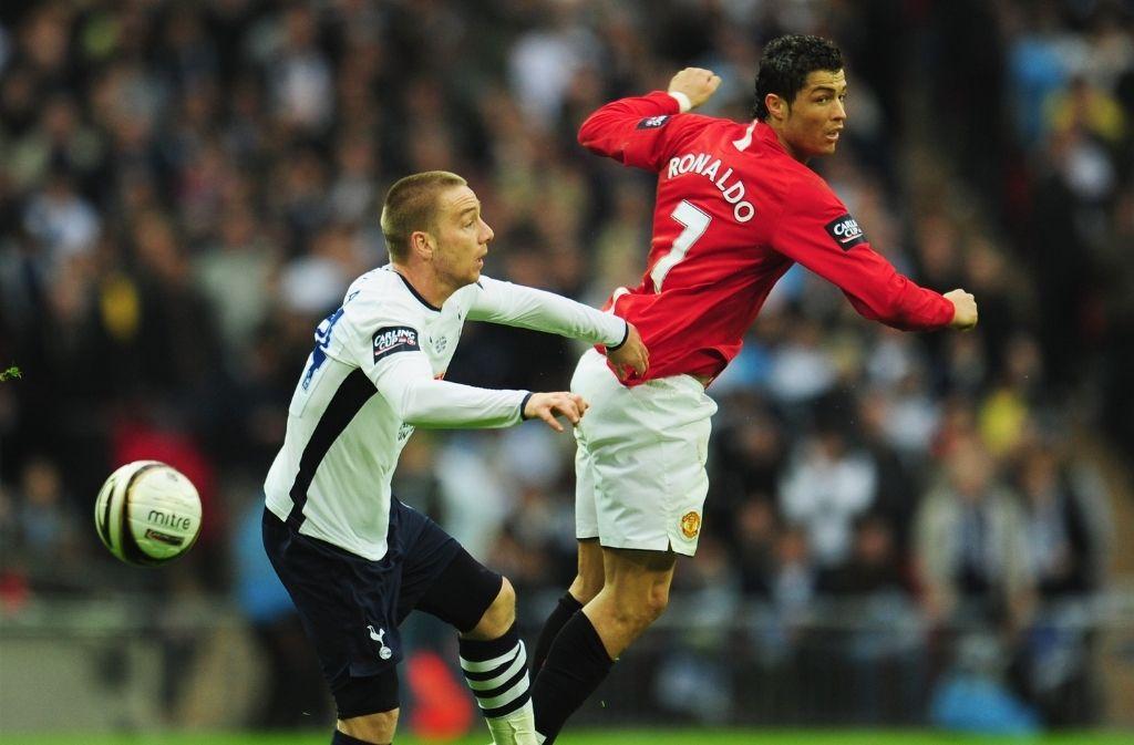 Cristiano Ronaldo, Jamie O'Hara, Manchester United, Tottenham