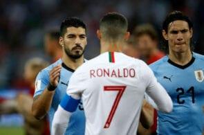 Cristiano Ronaldo,Cavani