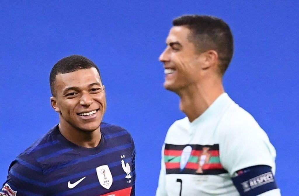 Kylian Mbappe & Cristiano Ronaldo
