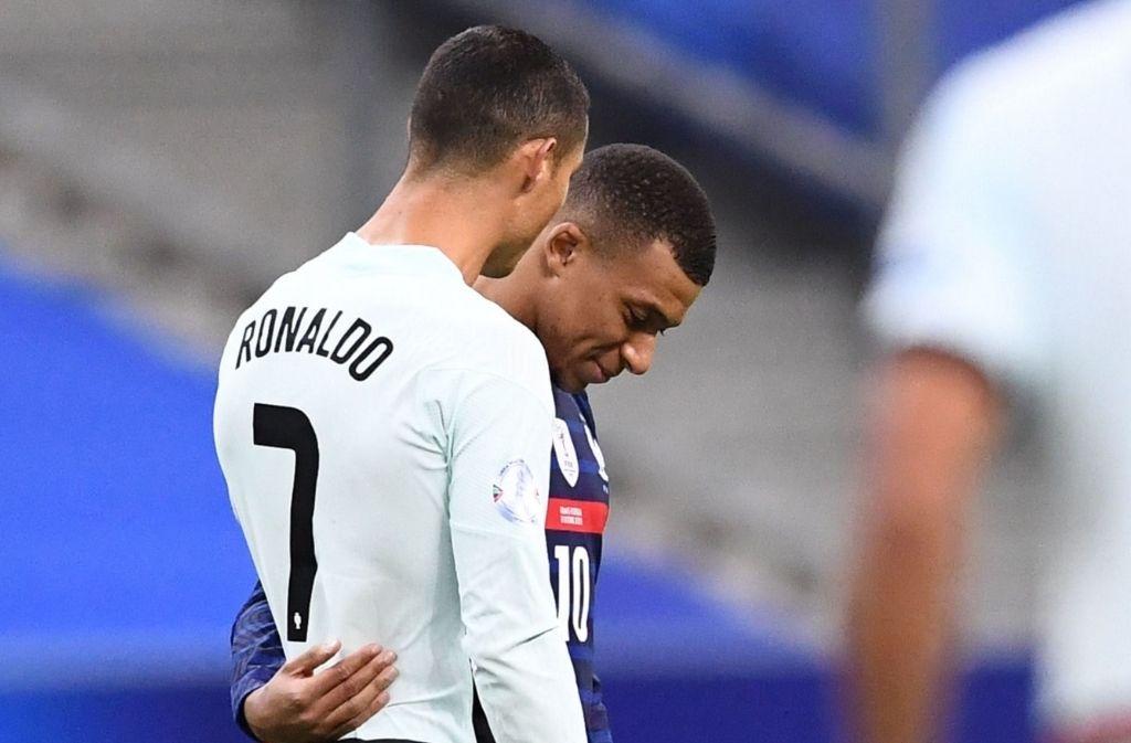 Kylian Mbappe, Cristiano Ronaldo, France, Portugal