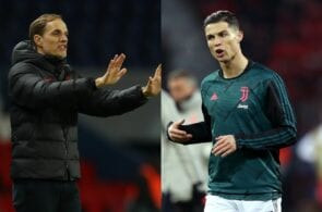 Thomas Tuchel of Paris Saint-Germain, Cristiano Ronaldo of Juventus