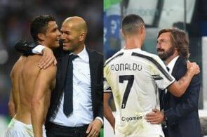 Cristiano Ronaldo & Zinedine Zidane, Cristiano Ronaldo & Andrea Pirlo