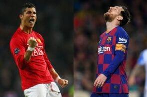 Cristiano Ronaldo, Manchester United, Lionel Messi