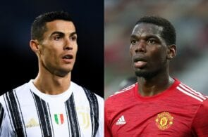 Cristiano Ronaldo of Juventus, Paul Pogba of Juventus