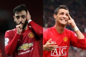 Bruno Fernandes, Cristiano Ronaldo - Manchester United