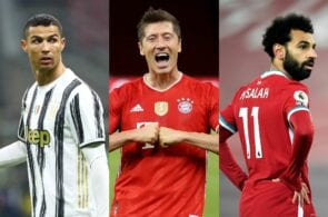 Top 10 leaders in the European Golden Shoe race