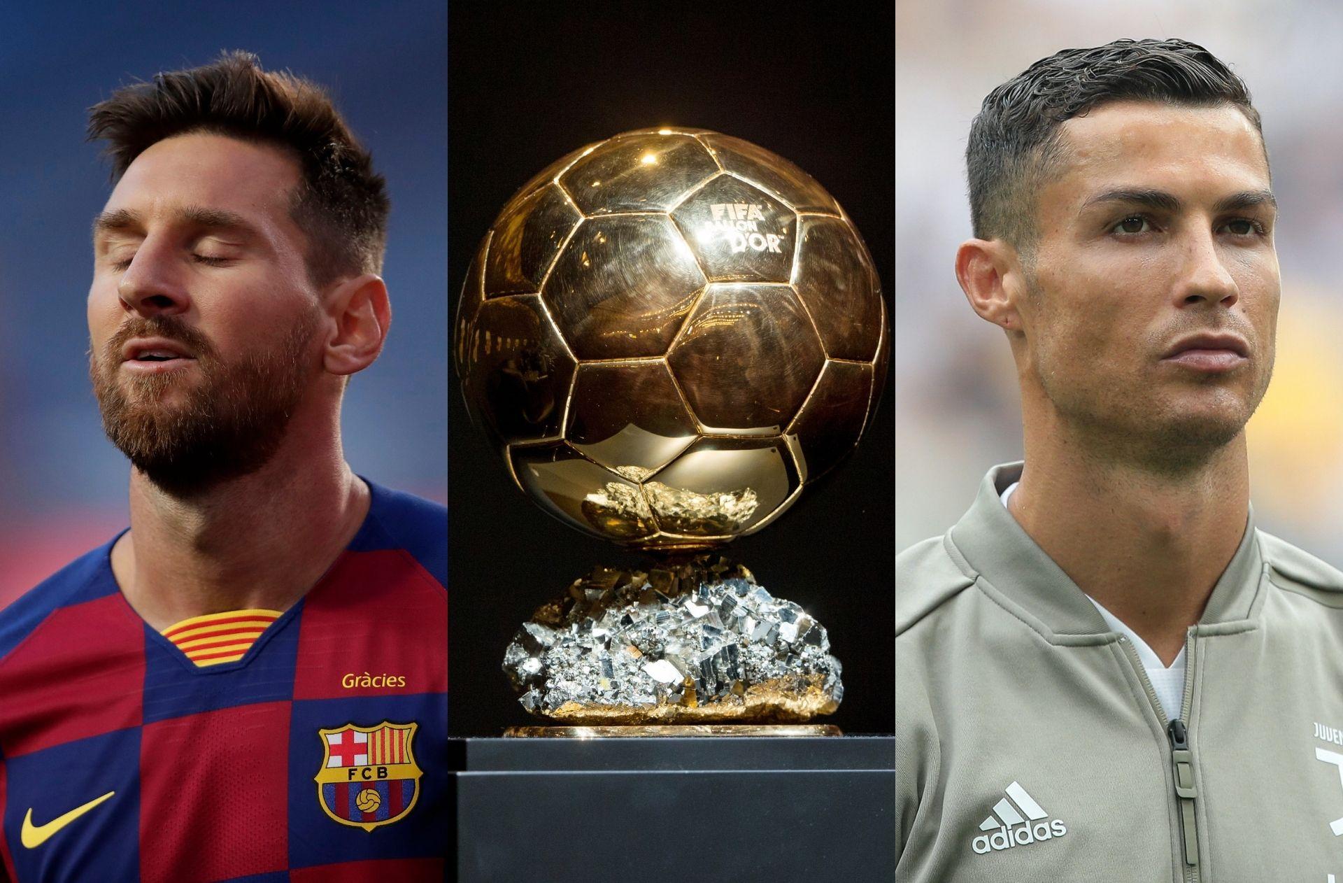 Lionel Messi, Ballon d'Or, Cristiano Ronaldo