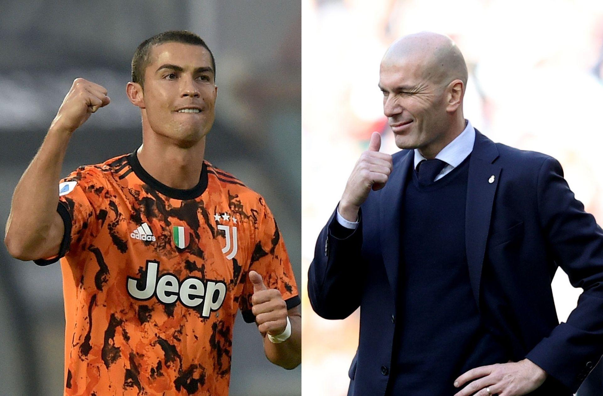 Cristiano Ronaldo - Juventus, Zinedine Zidane - Real Madrid