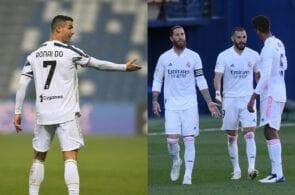 Cristiano Ronaldo - Juventus, Real Madrid