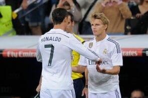 Cristiano Ronaldo & Martin Odegaard - Real Madrid