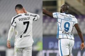 Cristiano Ronaldo and Romelu Lukaku