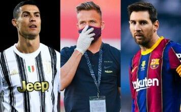 Cristiano Ronaldo, Arthur Melo, Lionel Messi