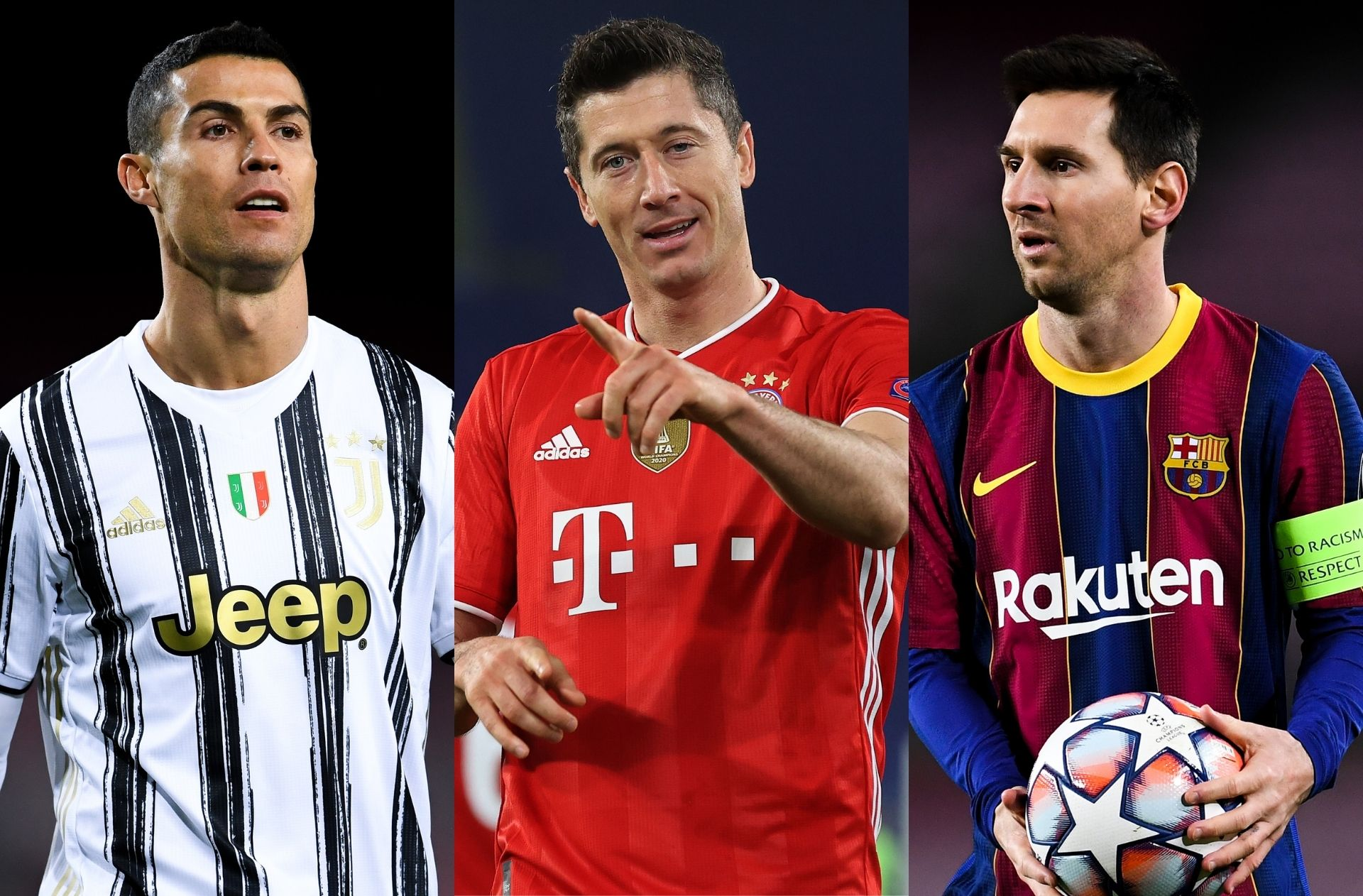 Top 10 leaders in the European Golden Shoe race