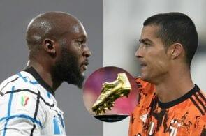 Romelu Lukaku Inter Milan, Cristiano Ronaldo of Juventus