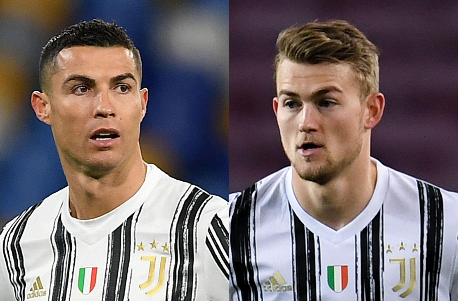 Matthijs de Ligt, Cristiano Ronaldo - Juventus