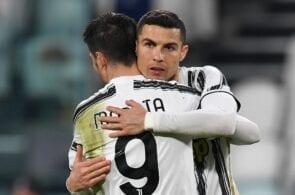 Cristiano Ronaldo, Alvaro Morata - Juventus