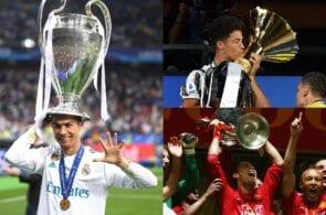 Cristiano Ronaldo - Real Madrid, Manchester United, Juventus