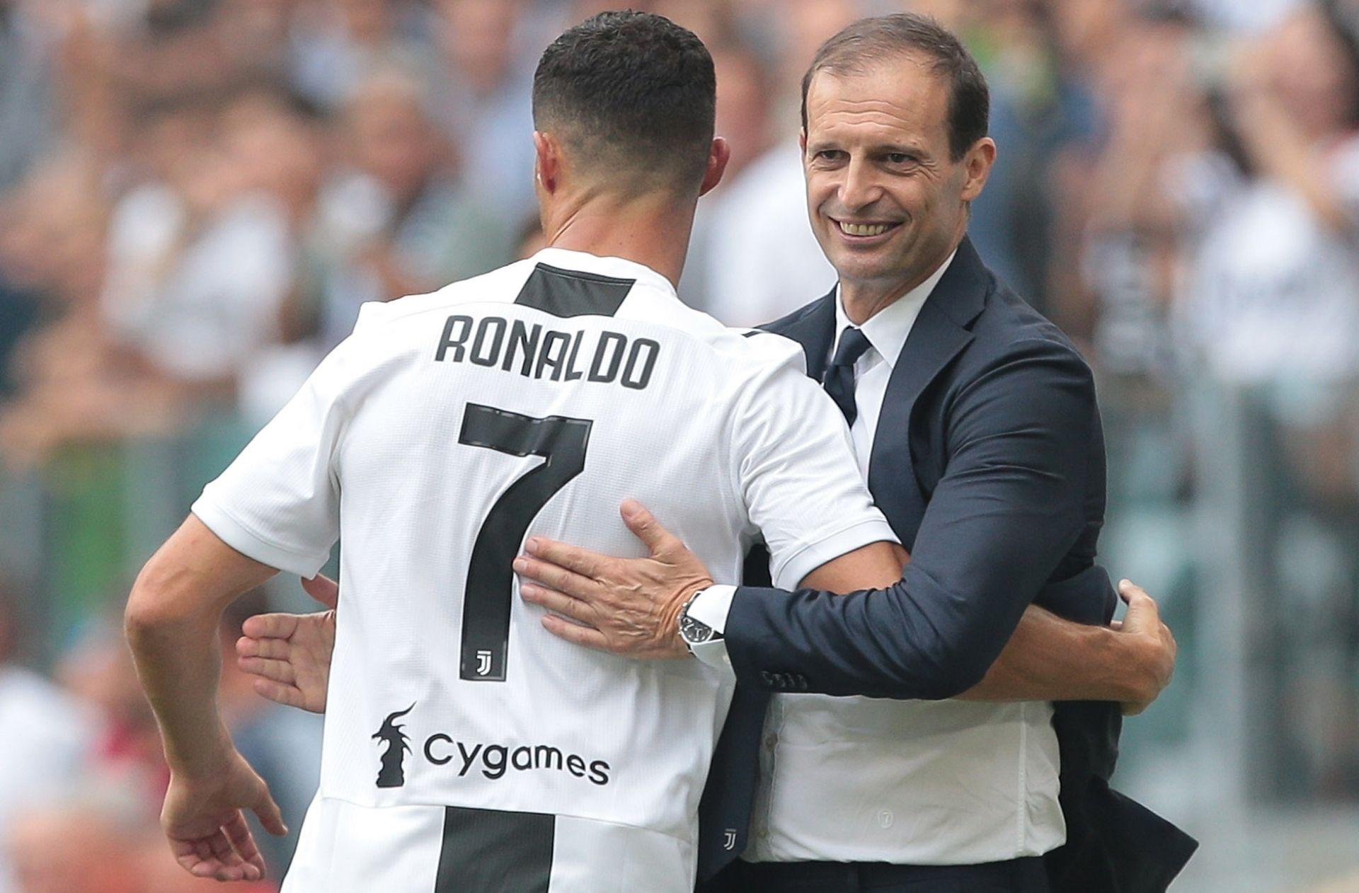 Cristiano Ronaldo, Massimiliano Allegri,