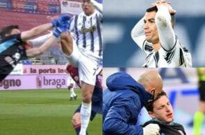Cristiano Ronaldo, Alessio Cragno, Juventus