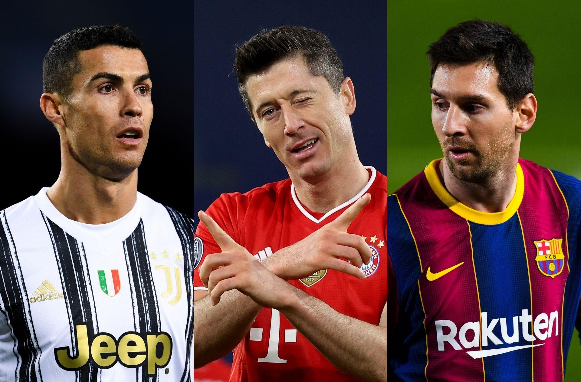 Top goalscorers in 2021
