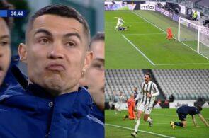 Cristiano Ronaldo, Adrien Rabiot, Juventus